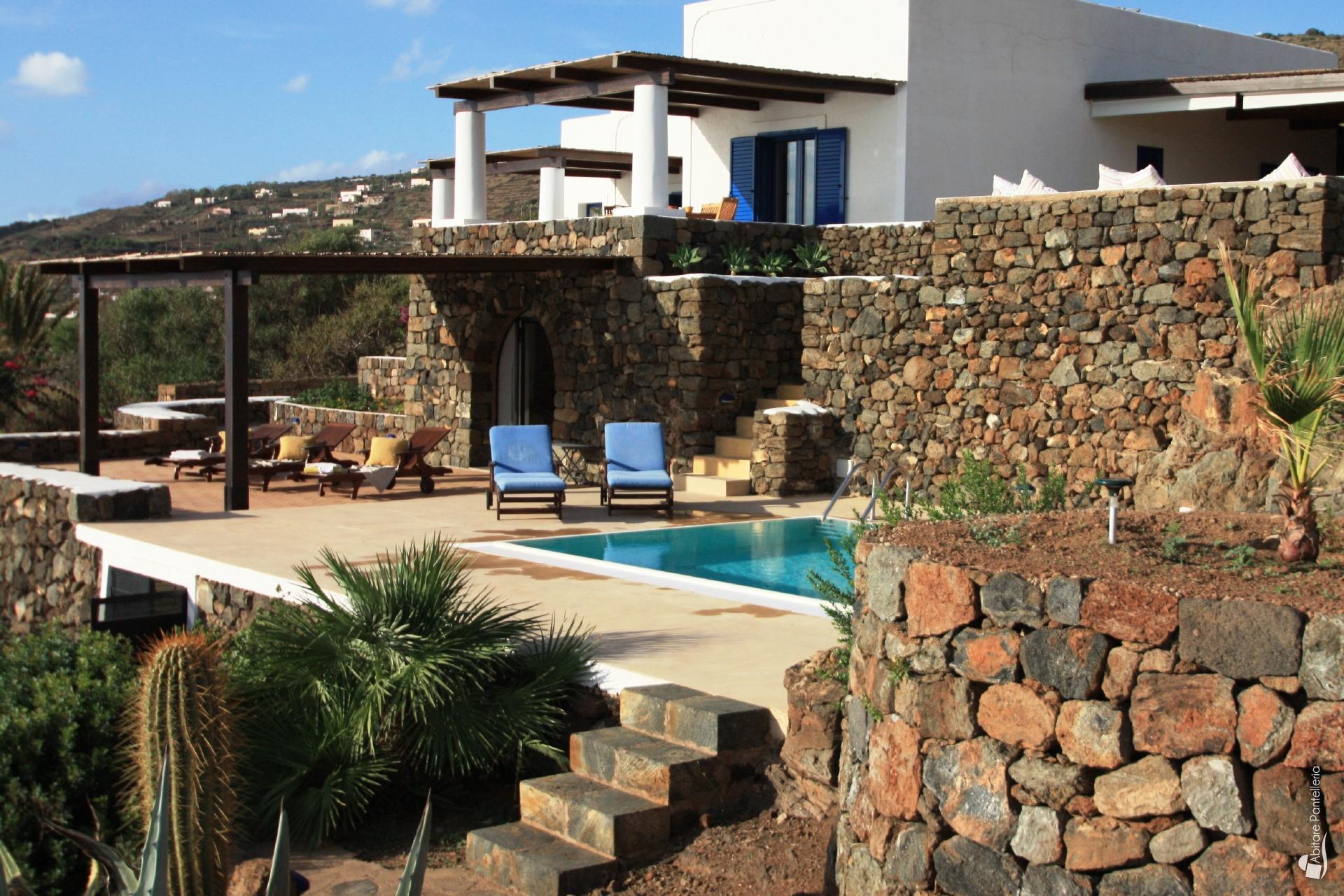 Scauri panoramico abitare pantelleria - Dammusi con piscina pantelleria ...